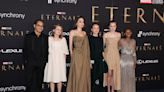 Angelina Jolie makes rare appearance with kids on 'Eternals' red carpet – KION546