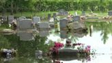 Lawsuit blames developer for flooding at Tildenville Oakland Cemetery