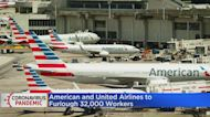 American Airlines, United To Furlough Workers