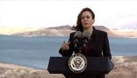 Vice President Kamala Harris tours Lake Mead, discusses climate change with Nevada leaders