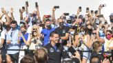 SpaceX launches Inspiration4 flight of all-civilian crew