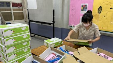 守護新北特教生學習不斷線 「學習百寶箱」宅配到家