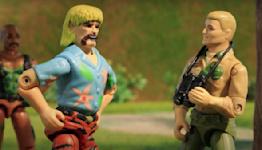 'G.I. Joe Exotic' Stops Cobra in ROBOT CHICKEN Short