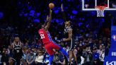 Sixers star Joel Embiid gives update on his knee injury after loss to Nets