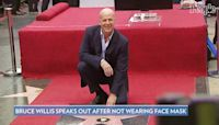 Bruce Willis Says Not Wearing a Mask in Public 'Was an Error in Judgment'