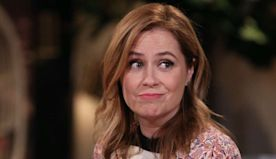 Watch Jenna Fischer Tap Dance In These Adorable Home Workout Videos