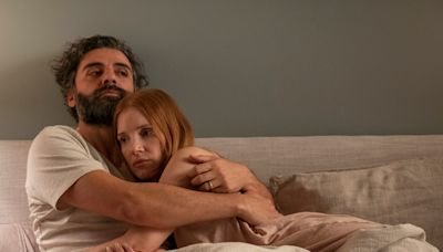 Jessica Chastain agreed to 'Scenes From a Marriage' nude scenes on the condition that Oscar Isaac 'show the same' as her