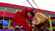Bolivia's female wrestlers return to the ring
