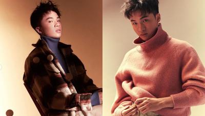 桌球》林昀儒大突破!初登時尚雜誌帥又潮 網驚:以為哪個韓星