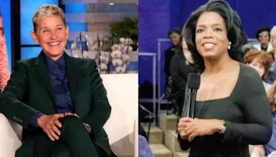 Oprah Tells Ellen DeGeneres What She Won't Miss After Her Talk Show Ends (Video)