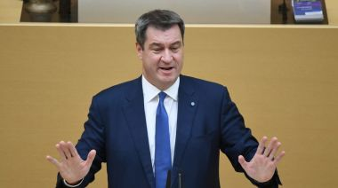 Coronavirus risks running out of control in Germany, warns Soeder