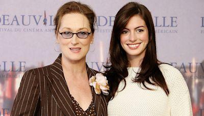 Meryl Streep Called Studio to Get Anne Hathaway Cast in Devil Wears Prada : 'This Girl's Great'