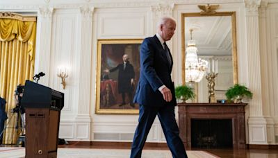Biden approval rate takes hit from both Democrats and Republicans in latest Pew poll