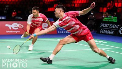 丹麥羽球公開賽爆冷門 麟洋配不敵日本次輪出局