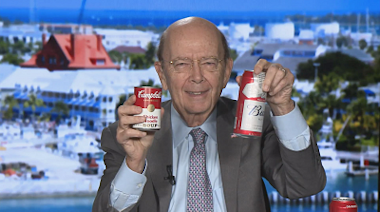 Watch Wilbur Ross use a can of Campbell's Soup to defend ...