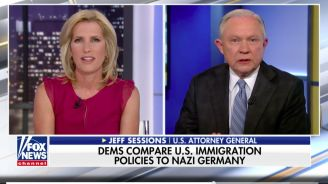 Sessions: DOJ Not Like The Nazis Because They Were Trying To Keep 'Jews From Leaving'