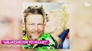 Garth Brooks: Gwen Stefani Is 'Lucky' to Be Engaged to Blake Shelton