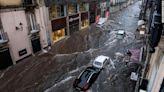 影/地中海颶風襲義大利南部!街道汪洋一片 兩人罹難