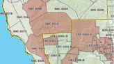 Map: Mandatory evacuations in San Mateo County, Santa Cruz County