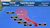 Tropical Storm Epsilon forms, expected to strengthen into hurricane