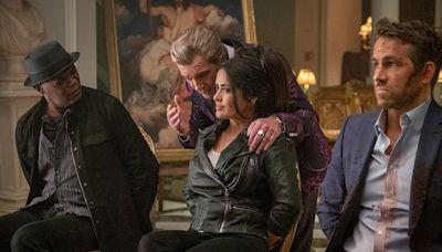 Salma Hayek Joins Ryan Reynolds and Samuel L. Jackson in Trailer for The Hitman's Wife's Bodyguard