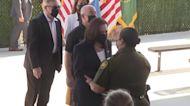 VP Harris visits an El Paso border patrol facility