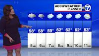 Rain ending: Updated 7-day forecast