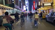 Cyclists Take to New York Streets in Protest of Daunte Wright Shooting