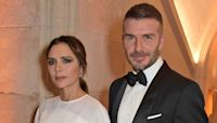 David Beckham celebrates birthday with unique wrapping paper alongside Victoria