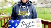 Otsego Lions' drive gives nod to first responders