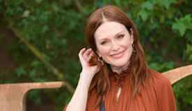 Julianne Moore's beautiful bathroom features unexpected detail