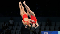 Tokyo Olympics live updates: An American first in synchronized diving, U.S. women's basketball team wins opener