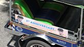 Thailand's K-pop fans pay for banner ads on tuktuks to help struggling drivers