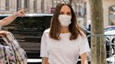 Angelina Jolie Wore the Perfect Linen Trousers in Paris