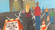 Student uses painting to cope with COVID-19 pandemic