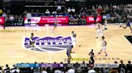 Scottie Lindsey with a 2-pointer vs the Sacramento Kings
