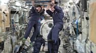 Astronauts compete in 1st 'Space Olympics'