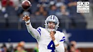 Skip Bayless: I do not have a good feeling about Dak Prescott being ready to play against the Vikings I UNDISPUTED