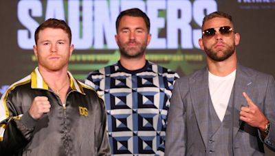 Canelo vs Saunders ring walks: What time will super middleweight fight start in UK?