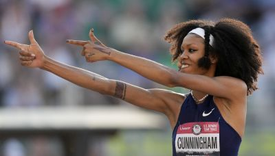 Daughter of NFL legend makes a leap of faith at Tokyo Olympics