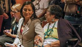 Interior secretary's mother, a longtime civil servant, dies