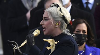 Social Media Is Living for Lady Gaga at the Inauguration