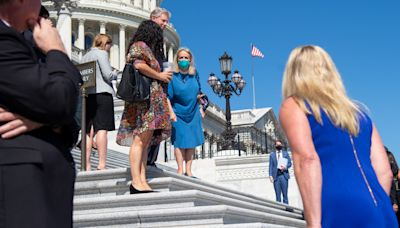 Reps. Marjorie Taylor Greene, Debbie Dingell get into shouting match on US Capitol steps