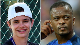 Beckham's bow and Evra's message – Monday's sporting social