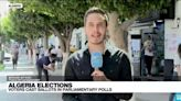 Algeria elections: voters cast ballots in parliamentary polls