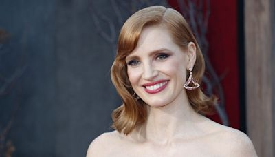 Jessica Chastain Looks Unrecognizable as Tammy Faye Bakker in Her New Movie