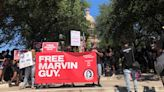 Supporters of Marvin Guy rally at the Texas Capitol to bring renewed attention to his case