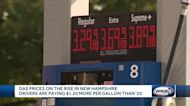 Gas prices rising in New Hampshire