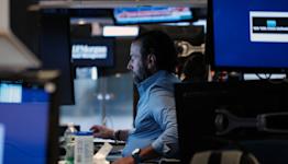 Stock market news live updates: Stocks drift below record levels as earnings roll in