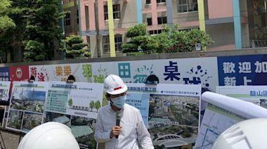 林欽榮副市長視察輕軌施工進度 並宣布向東推進!/波新聞